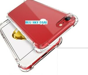 New 360 Shock Proof  Anti Burst ,Armour CLEAR Gel Case For iPhone 7PLUS