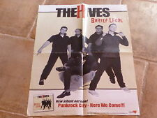THE VINES - BARELY LEGAL - RARE PROMO POSTER !!!!!!