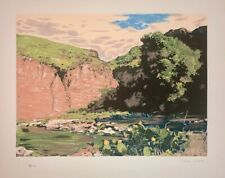 Robert Wood American Artist Limited Ed Serigraph Pencil Signed & Numbered