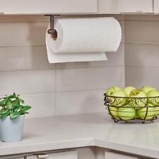 Wall Mount Paper Towel Holder Kitchen Under Cabinet Bronze Bathroom Toilet Paper
