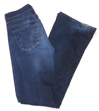 """Citizens of Humanity Women Jeans Size 27"""" Hutton Flare Mid Rise Blue Denim COH"""