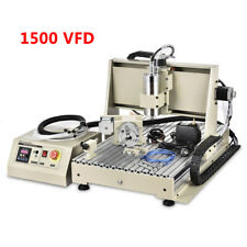 Usb 3axis 4axis 5axis Cnc 6040z Router Engraver Miller Drilling Machine 15kw
