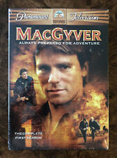 MacGyver The Complete First Season (6-Disc Set) Original 1985 Series Dvd Sealed