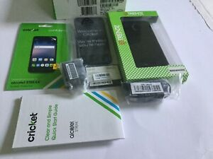 Alcatel Streak Smartphone Cricket Gray Android Phone With Screen Protection