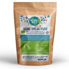 Organic Spirulina Powder 200g Soil Association Detox Cleanse Protein Rich Detox