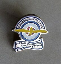 Royal Canadian Air Force Association 890 South Okanagan Wing Penticton B.C Pin