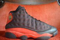 VNDS Nike Air Jordan XIII 13 Retro BLACK RED WHITE BRED 414571-010 Size 11 OG AL