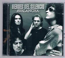 HEROES DEL SILENCIO  AVALANCHA TIMBRO A SECCO MADE IN ITALY CD F.C.