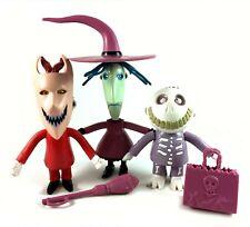 Lock, Shock & Barrel Vintage Nightmare Before Christmas Figures Lot 1993 Hasbro