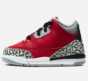 Air Jordan 3 Retro SE TD Unite -CHOOSE SIZE - CQ0489-600 OG Grey Fire III Cement