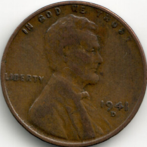 USA - 1941-D - Lincoln Wheat Ears Reverse Cent (1)