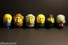 6 Pcs of High Quality Big Size Mystery Doodle Jump PVC Collection Action Figure