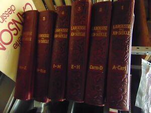 larousse du XX° siecle  augé 1931 6 volumes
