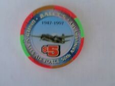 New listing $5 Bally Air Force 50Th Anniversary Chip Airplane A-20 Havoc