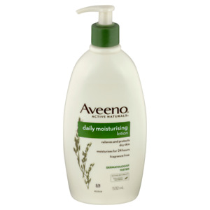 Aveeno Daily Moisturising Lotion Pump 532mL Fragrance Free Colloidal Oatmeal