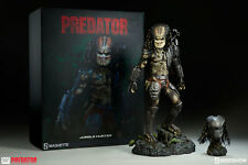 SIDESHOW PREDATOR JUNGLE HUNTER MAQUETTE STATUE FIGUR AVP ALIEN NEU & OVP