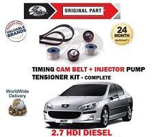 Para Peugeot 407 2.7 HDI 24v 2005-2010 Distribución + Inyector Tensor Correa Kit