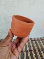 3pc Ceylon Earthenware Clay Pot Bonsai Pot Terracotta Cactus Pot Indoor&Outdoor.