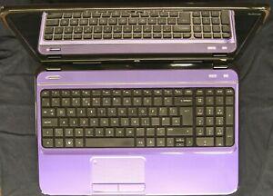 HP Pavilion 15.6 Purple g6-2141sa Upgraded SSD Intel i5 2.6 - 3.3GHz Windows 10