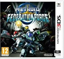 Metroid Prime Federation Force - Nintendo 3DS Game. Case, 2 inserts & cartridge.