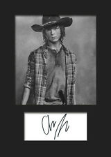 CHANDLER RIGGS #2 A5 Signed Mounted Photo Print (Reprint) - FREE DELIVERY