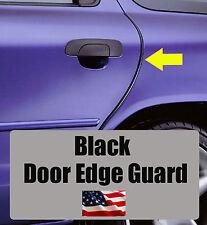 4pcs BLACK Door Edge Guard Trim Molding Protector SUBA4BG