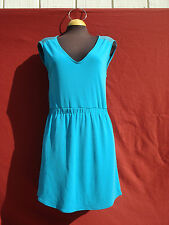 Nwt Zara Collection green 100% Rayon dress Size M Made in Turkey