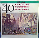 Forty Favorite Scottish Melodies - Highland Symphonette - LP