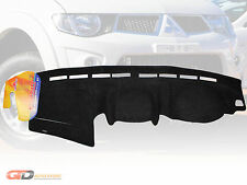 DASH MAT Mitsubishi Triton MN Facelift 02/2014-ON in Black DM1349 GLX-R
