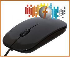 PC-Maus Manhattan SLIM schwarz USB 1000dpi, optische für Computer, Laptop/ Mouse