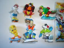 LOONEY TUNES ACTIVE WINTER SPORTS 2009 KINDER SURPRISE FIGURES SET COLLECTIBLES