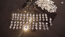 Crystal strips x25 of 3 high clarity qulaity lead chandelier project