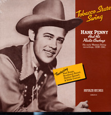 Hank Penny SEALED LP Tobacco State Swing 1938-41 Western Swing new/old stock