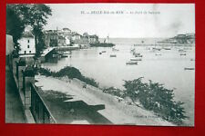 BELLE ILE EN MER LE PORT DE SAUZON BRETAGNE MORBIHAN COLLECTION PETITJEAN N°23
