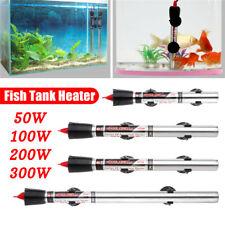 Aquarium Submersible Heater Fish Tank Auto Water Thermostat 50/100/200/300W F Q