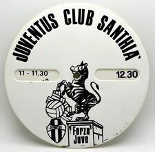 Disco Orario Juventus Club Santhià cm 12,2