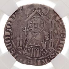 GERMANY, Cologne. Friedrich von Saarwerden, 1370-1414. Weisspfennig, NGC VF25