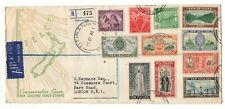 More details for new zealand 1946 peace illustrated fdc titirangi to london ws24257