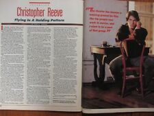 February, 1989 Lancaster Pa. TV Host Magazine(CHRISTOPHER  REEVE/SUPERMAN)