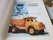 Nutzfahrzeug Archiv 1 Geschichte 1293 Markengeschichte MAN Muldenkipper 1963