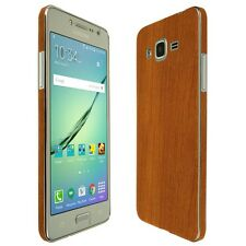Skinomi Light Wood Skin+Clear Screen Protector For Samsung Galaxy J2 Prime