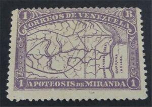 nystamps Venezuela Stamp # 141 MOGH   O22x1366