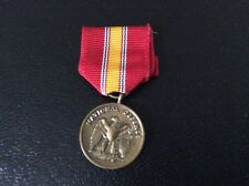 US military medal miniature  National Defense