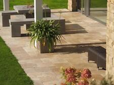 Terrassenplatten Gehwegplatten Terrassensteine Natur Travertin Noce Wohnrausch