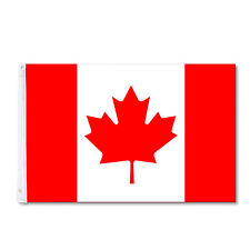 Huge 3' x 5' High Quality Nylon Canadian Flag - Free Shipping