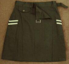 CAROLINE MORGAN military SKIRT wrap front Pockets 28W  NWT! ~ Women sz 6