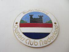 Austin Healey Owner's Club Nederland Grille Badge Emblem Netherlands Holland