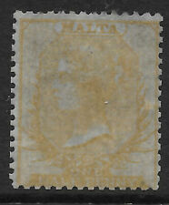 MALTA 1860 No Wmk Thin hard white paper - 11539