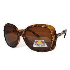 Polarized Designer Metal & Plastic Frame Sunglasses for Women