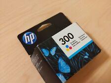 HP 300 Tri-colour Original Ink Cartridge CC643EE New Sealed May 2020